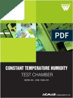 Constant Temperature Humidity