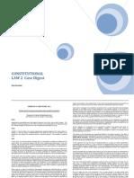 Consti II Cases