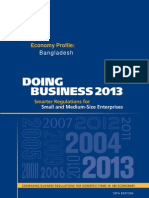 BGD Doing Business Bangladesh Ethics 2013 Report