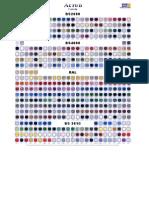 BS 4800 RAL Colour Chart