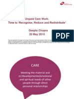 Unpaid Care Work