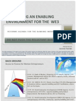 Creating an Enabling Environment for the  WE3 by Sultan Tiwana.pdf