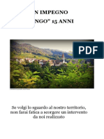 Realizzazioni giunta comunale Faedo 2000-2015