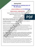 MB0042–Managerial Economics