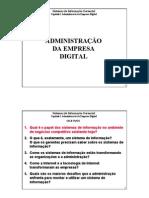 C01 Administração Da Empresa Digital