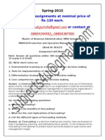 MB0044-Production and Operation Management