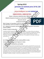 MH0053–Hospital & Healthcare Information Management