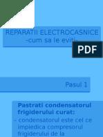 Cum sa eviti REPARATII ELECTROCASNICE inutile