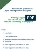 Regulatory STD for Drinking Water