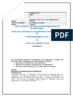 Mb0040 - Statistics for Management
