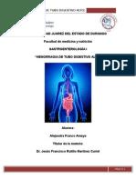 Hemorragia de tubo digestivo alto