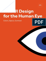Web User Interface Design for the Human Eye