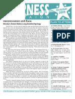 Fairness Campaign Newsletter October 2009