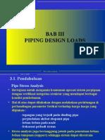 Bab 03 Piping Design Loads