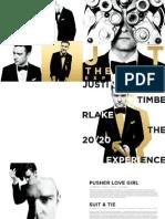 Justin Timberlake Digital Booklet 20-20Experience