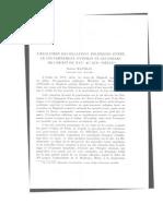 l'Evolution Des Relations Politiques Entre Le Gouvernement Ottoman Et Les Odjaks de l'Ouest Du Xvie Au Xix« Siecle