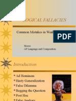 1. Logical Fallacies