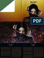 Michael Jackson's Booklet Xscape