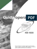 Kyocera KM-1500 Manuale