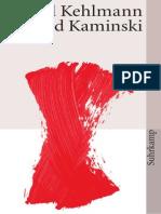 Kehlmann-Ich Und Kaminski