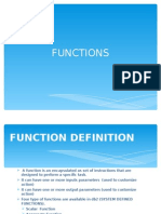 03 Functions