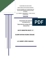 DESARROLLO DE VALORES EN EL AULA EDUCATIVA