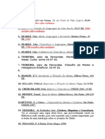Lista de Livros Pra Paxou