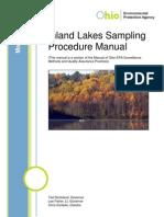 Lake Sampling Procedures
