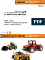 Hydraulic Jerk in Articulated Vehicles