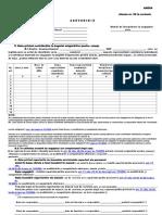 Adeverinta de Somaj Format Editabil