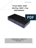 9258s t Sp Tp Manual v5.01