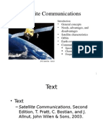 Satellite Communication Intro