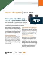 Mitel NuPoint Messenger data sheet.pdf