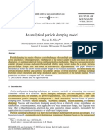 An Analytical Particle Damping Model (1)