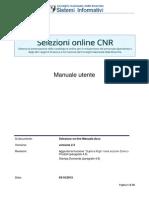 Manuale selezione online