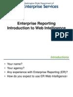 Intro to WebI