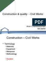 Construction & Quality - Civil Works_bubaneshwar