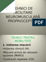 Tehnici de Facilitare Neuromusculară Proprioceptivă