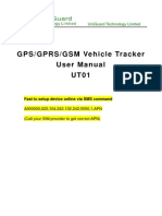 GPS Vehicle Tracker UT01User Manual