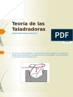 Presentación de Taladradoras