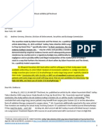 June 9, 2015 - Open Letter to The Street Inc. - CEO Ms Elisabeth H DeMarse and Adam Feuerstein - Re IsoRay Inc.