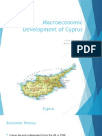 Macroeconomic Development of Cyprus
