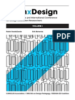 Proceedings of the 3rd International Conference for Design Education Researchers (volume 1)