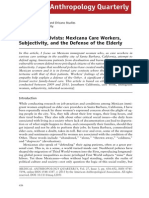Ibarra_frontline Activists, Mexicana Care Workers, Subjectivity and the Defense of Elderly