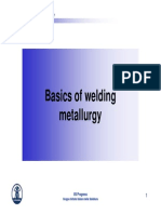 Metallurgy of the Welded Joint