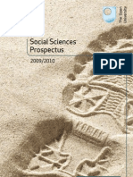 Social Sciences Prospectus