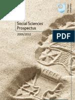 Social Sciences Prospectus