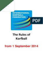 The Rules of Korfball v 2014-09-01