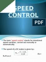 Speed Control of DC motors