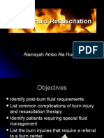 Burn Fluid Resuscitation